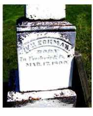 ECKMAN, WILLIAM - Adams County, Ohio | WILLIAM ECKMAN - Ohio Gravestone Photos