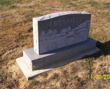 EDENFIELD, ELVAS - Adams County, Ohio | ELVAS EDENFIELD - Ohio Gravestone Photos