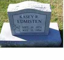 EDMISTEN, KASEY R. - Adams County, Ohio | KASEY R. EDMISTEN - Ohio Gravestone Photos