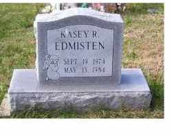 EDMISTEN, KASEY R. - Adams County, Ohio | KASEY R. EDMISTEN - Ohio Gravestone Photos