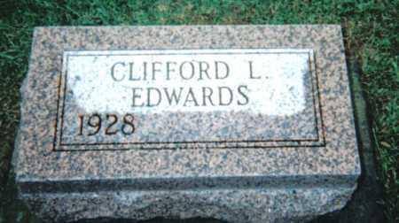 EDWARDS, CLIFFORD L. - Adams County, Ohio | CLIFFORD L. EDWARDS - Ohio Gravestone Photos