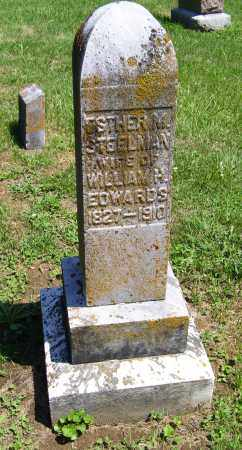 STEELMAN EDWARDS, ESTHER M. - Adams County, Ohio | ESTHER M. STEELMAN EDWARDS - Ohio Gravestone Photos