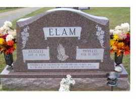 ELAM, RUSSELL - Adams County, Ohio | RUSSELL ELAM - Ohio Gravestone Photos