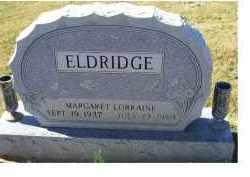 ELDRIDGE, MARGARET LORRAINE - Adams County, Ohio | MARGARET LORRAINE ELDRIDGE - Ohio Gravestone Photos