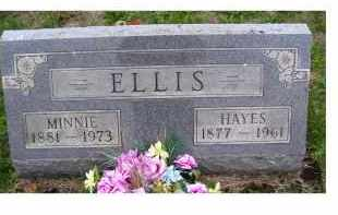 ELLIS, HAYES - Adams County, Ohio | HAYES ELLIS - Ohio Gravestone Photos