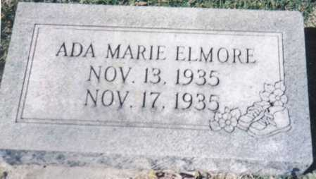ELMORE, ADA MARIE - Adams County, Ohio | ADA MARIE ELMORE - Ohio Gravestone Photos