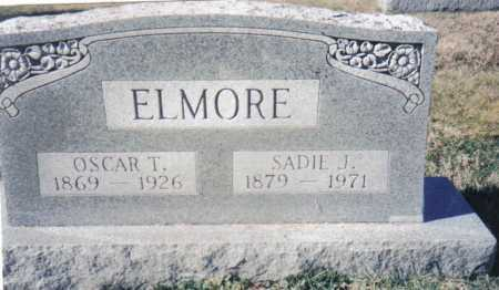 ELMORE, SADIE J. - Adams County, Ohio | SADIE J. ELMORE - Ohio Gravestone Photos