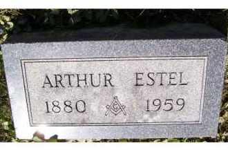 ESTEL, ARTHUR - Adams County, Ohio | ARTHUR ESTEL - Ohio Gravestone Photos