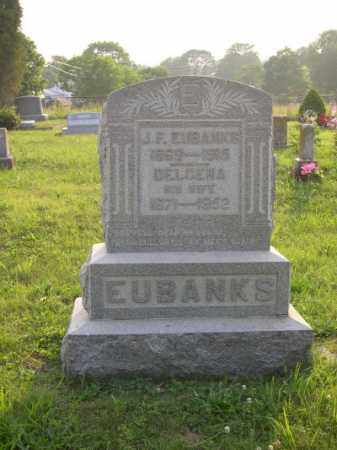 SIMPSON EUBANKS, DELCENA - Adams County, Ohio | DELCENA SIMPSON EUBANKS - Ohio Gravestone Photos