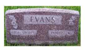 EVANS, LIDA - Adams County, Ohio | LIDA EVANS - Ohio Gravestone Photos