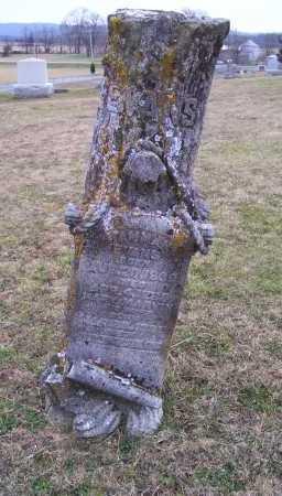 EVANS, MARY - Adams County, Ohio | MARY EVANS - Ohio Gravestone Photos