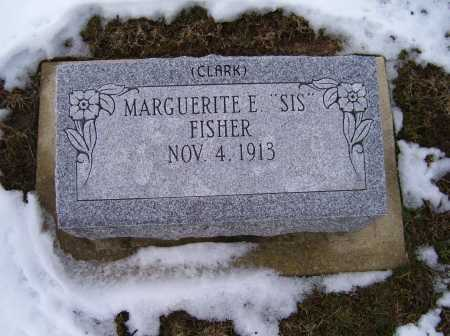 FISHER, MARGUERITE E. - Adams County, Ohio | MARGUERITE E. FISHER - Ohio Gravestone Photos