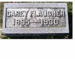 FLAUGHER, CAREY - Adams County, Ohio | CAREY FLAUGHER - Ohio Gravestone Photos