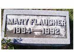 FLAUGHER, MARY - Adams County, Ohio | MARY FLAUGHER - Ohio Gravestone Photos