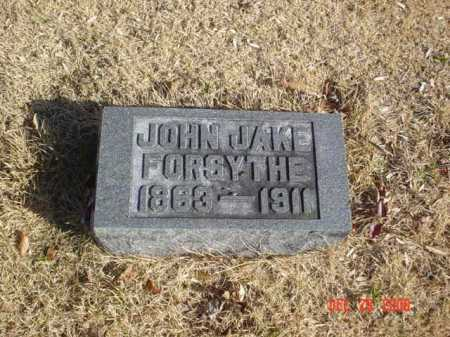 FORSYTHE, JOHN JAKE - Adams County, Ohio   JOHN JAKE FORSYTHE - Ohio Gravestone Photos