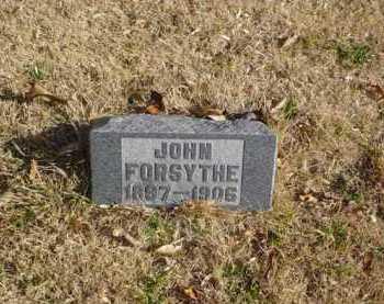 FORSYTHE, JOHN - Adams County, Ohio   JOHN FORSYTHE - Ohio Gravestone Photos