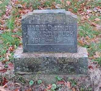FOUCH, HAROLD - Adams County, Ohio | HAROLD FOUCH - Ohio Gravestone Photos