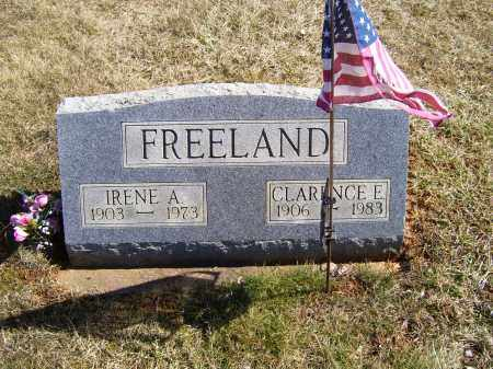 FREELAND, CLARENCE E. - Adams County, Ohio | CLARENCE E. FREELAND - Ohio Gravestone Photos