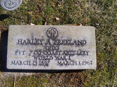 FREELAND, HARLEY A. - Adams County, Ohio | HARLEY A. FREELAND - Ohio Gravestone Photos