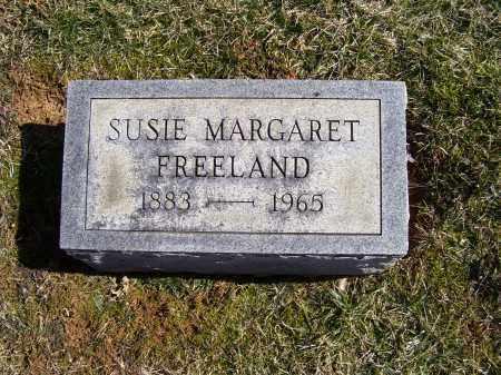 FREELAND, SUSIE MARGARET - Adams County, Ohio | SUSIE MARGARET FREELAND - Ohio Gravestone Photos