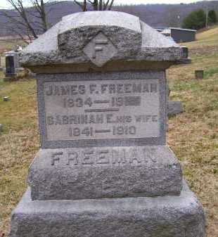 HAZELBAKER FREEMAN, SABRINAH E. - Adams County, Ohio | SABRINAH E. HAZELBAKER FREEMAN - Ohio Gravestone Photos