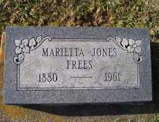 JONES FREES, MARIETTA - Adams County, Ohio | MARIETTA JONES FREES - Ohio Gravestone Photos
