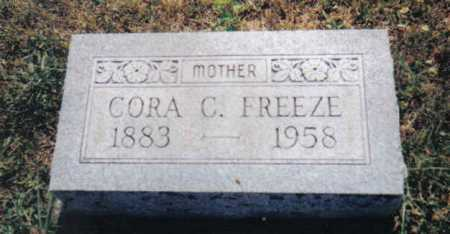 FREEZE, CORA C. - Adams County, Ohio | CORA C. FREEZE - Ohio Gravestone Photos