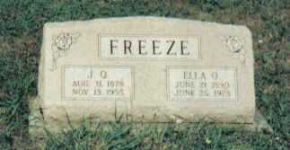 FERGUSON FREEZE, ELLA O. - Adams County, Ohio | ELLA O. FERGUSON FREEZE - Ohio Gravestone Photos