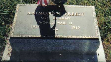 FREEZE, RAYMOND L. - Adams County, Ohio | RAYMOND L. FREEZE - Ohio Gravestone Photos
