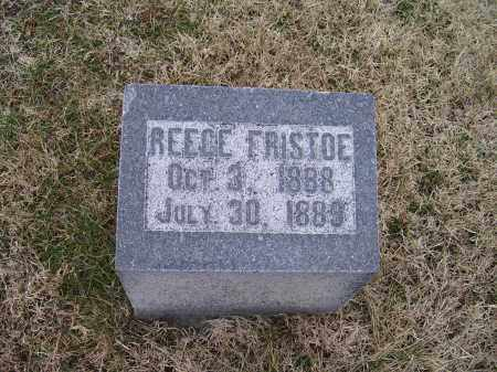 FRISTOE, REECE - Adams County, Ohio | REECE FRISTOE - Ohio Gravestone Photos