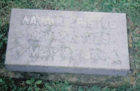 FRISTOE, WAVAR - Adams County, Ohio   WAVAR FRISTOE - Ohio Gravestone Photos