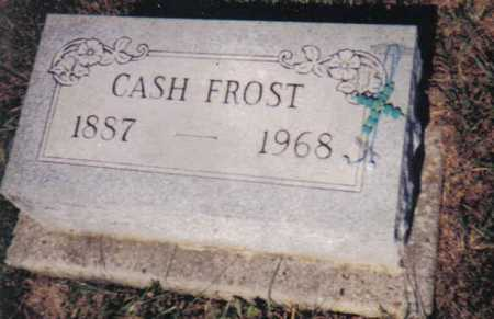FROST, CASH - Adams County, Ohio | CASH FROST - Ohio Gravestone Photos