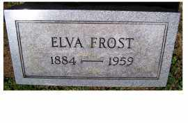 FROST, ELVA - Adams County, Ohio | ELVA FROST - Ohio Gravestone Photos
