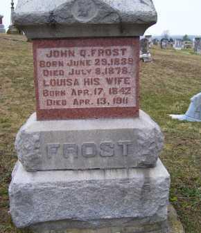 COPELAND FROST, LOUISA - Adams County, Ohio | LOUISA COPELAND FROST - Ohio Gravestone Photos