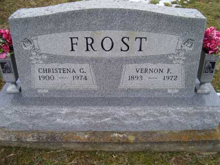 FROST, CHRISTENA G. - Adams County, Ohio | CHRISTENA G. FROST - Ohio Gravestone Photos