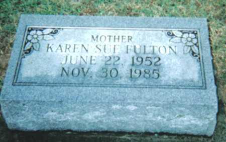 FULTON, KAREN SUE - Adams County, Ohio | KAREN SUE FULTON - Ohio Gravestone Photos
