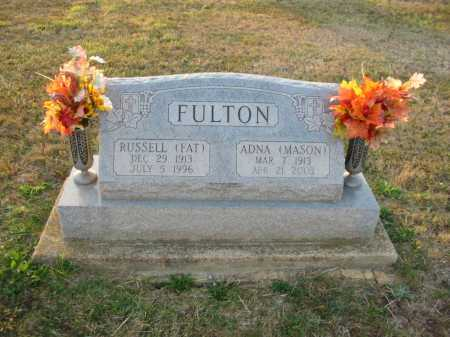 FULTON, ADNA - Adams County, Ohio | ADNA FULTON - Ohio Gravestone Photos