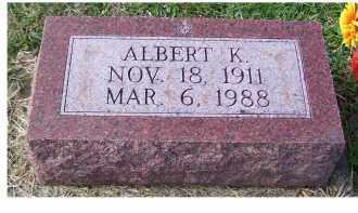 GAFFIN, ALBERT K. - Adams County, Ohio | ALBERT K. GAFFIN - Ohio Gravestone Photos