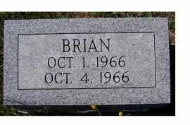 GAFFIN, BRIAN - Adams County, Ohio | BRIAN GAFFIN - Ohio Gravestone Photos