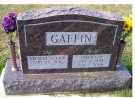GAFFIN, FREDA GAY - Adams County, Ohio | FREDA GAY GAFFIN - Ohio Gravestone Photos
