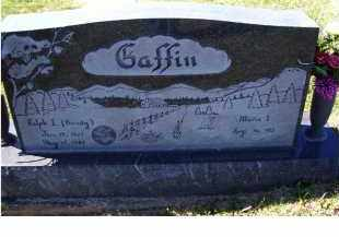 GAFFIN, RALPH L. - Adams County, Ohio | RALPH L. GAFFIN - Ohio Gravestone Photos
