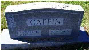 GAFFIN, RAMONA K. - Adams County, Ohio | RAMONA K. GAFFIN - Ohio Gravestone Photos