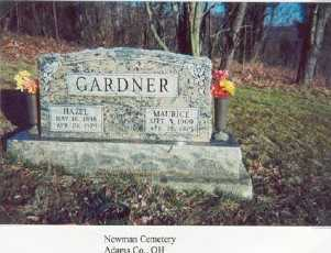 CLARK GARDNER, MAURICE - Adams County, Ohio | MAURICE CLARK GARDNER - Ohio Gravestone Photos