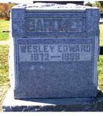 GARDNER, WESLEY EDWARD - Adams County, Ohio   WESLEY EDWARD GARDNER - Ohio Gravestone Photos