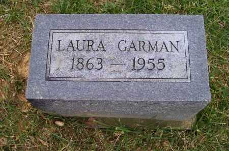 GARMAN, LAURA - Adams County, Ohio | LAURA GARMAN - Ohio Gravestone Photos