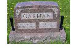 GARMAN, OSCAR D. - Adams County, Ohio | OSCAR D. GARMAN - Ohio Gravestone Photos