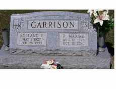 GARRISON, ROLLAND E. - Adams County, Ohio | ROLLAND E. GARRISON - Ohio Gravestone Photos