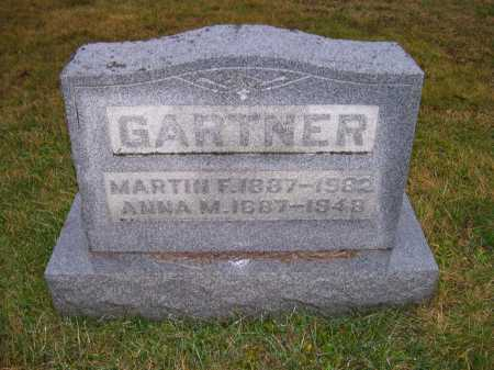 GARTNER, MARTIN F. - Adams County, Ohio | MARTIN F. GARTNER - Ohio Gravestone Photos