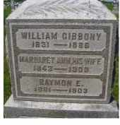 GIBBONY, WILLIAM - Adams County, Ohio | WILLIAM GIBBONY - Ohio Gravestone Photos