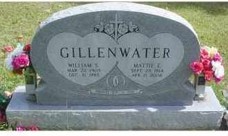 GILLENWATER, MATTIE E. - Adams County, Ohio | MATTIE E. GILLENWATER - Ohio Gravestone Photos